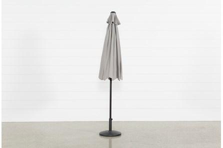 Outdoor Market Grey Umbrella - Main