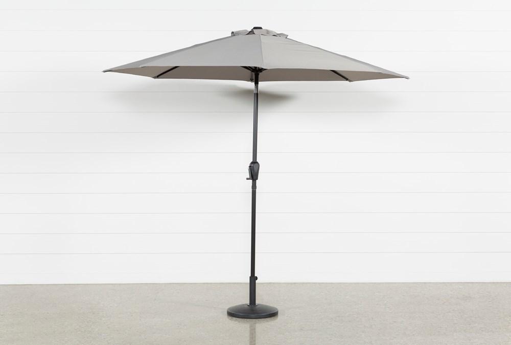 Market Outdoor Grey Umbrella