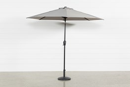 Outdoor Market Grey Umbrella