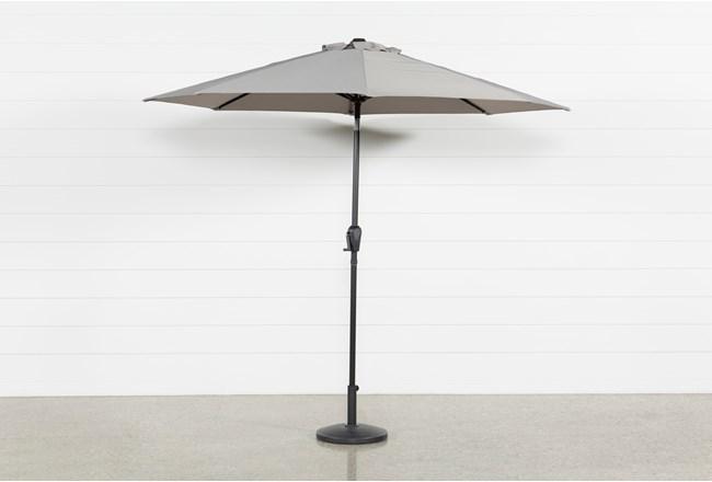 Market Outdoor Grey Umbrella - 360