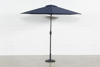 Market Outdoor Navy Umbrella