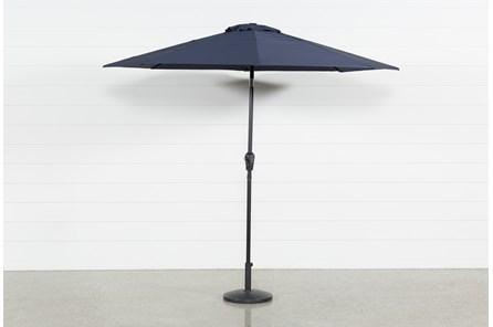 Outdoor Market Navy Umbrella
