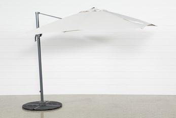 Cantilever Outdoor Beige Umbrella