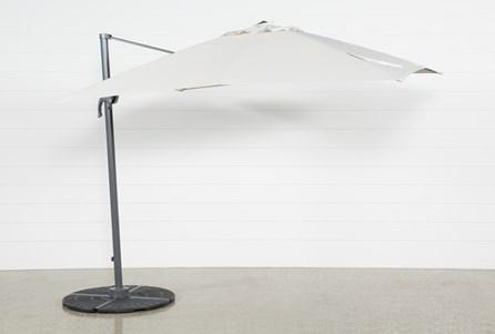 Outdoor Cantilever Beige Umbrella