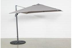 Cantilever Outdoor Grey Umbrella