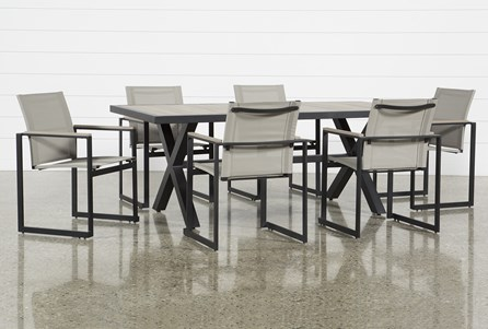 Outdoor Sorrento 7 Piece Dining Set