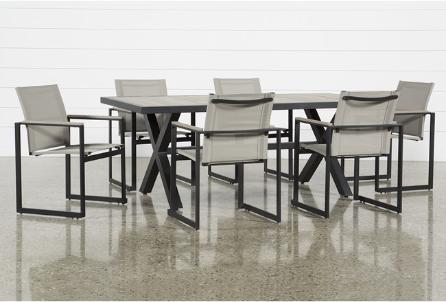 Outdoor Sorrento 7 Piece Dining Set - 360