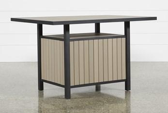 Sorrento Outdoor Storage Counter Table