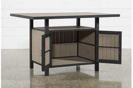 Outdoor Sorrento Storage Counter Table