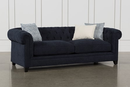 Blue Sofas Couches Free Assembly With Delivery Living Spaces