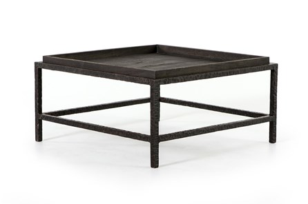 Elephant Grey Rustic Ridge Bunching Table