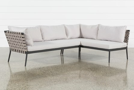 Outdoor Prospect 2 Piece Sectional
