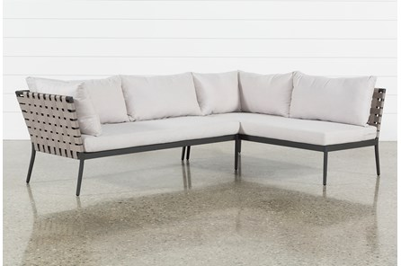 Outdoor Prospect 2 Piece Sectional - Main