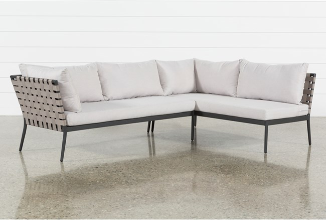 Outdoor Prospect 2 Piece Sectional - 360
