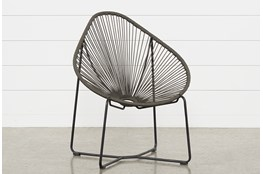 Outdoor Acapulco Grey Rope Chair