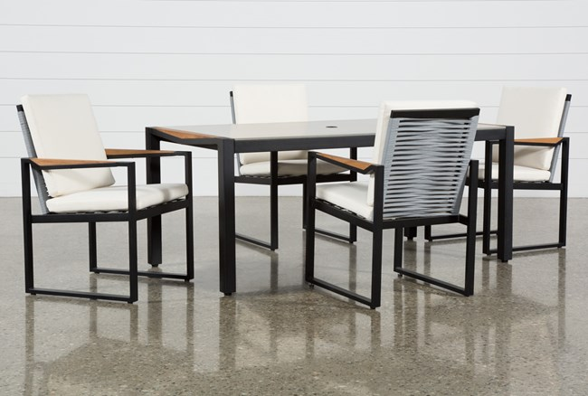 Outdoor La Paz 5 Piece Dining Set - 360