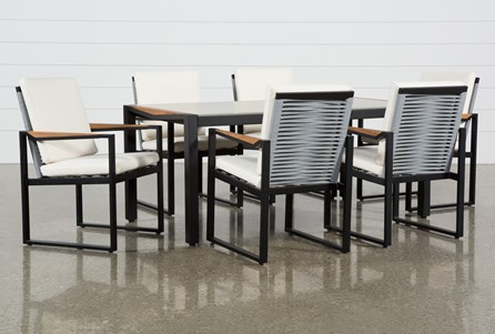 Outdoor La Paz 7 Piece Dining Set