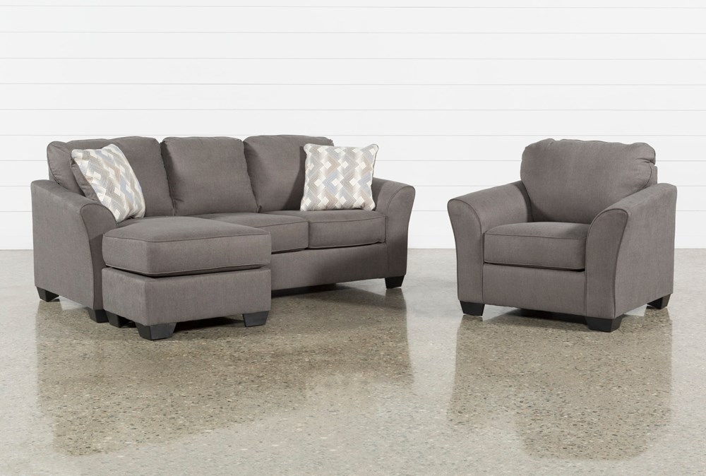 Tucker 2 Piece Living Room Set With Arm Chair