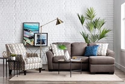 Tucker Sofa With Reversible Chaise