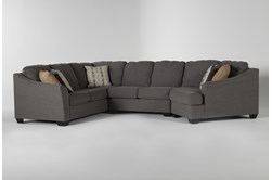 "Fenton 3 Piece 150"" Sectional With Right Arm Facing Cuddler"