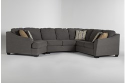 "Fenton 3 Piece 150"" Sectional With Left Arm Facing Cuddler"