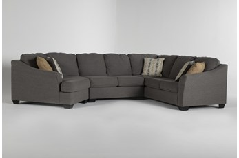 """Fenton 3 Piece 150"""" Sectional With Left Arm Facing Cuddler"""