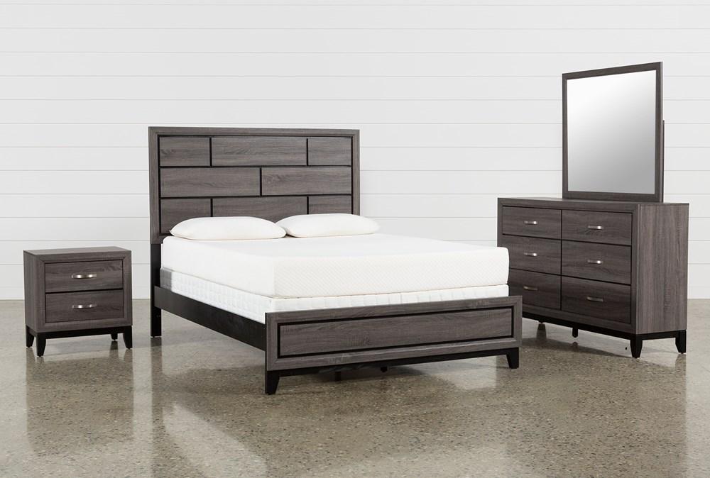 Finley California King 4 Piece Bedroom Set