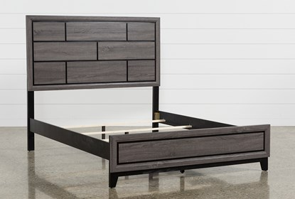 Finley California King Panel Bed - Slats