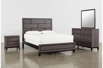Finley Eastern King 4 Piece Bedroom Set