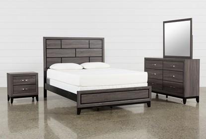 Finley Queen 4 Piece Bedroom Set Living Spaces
