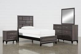 Finley Twin 4 Piece Bedroom Set