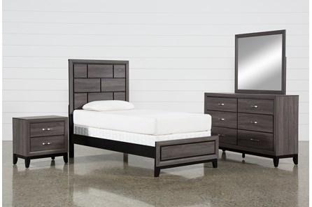 Finley Twin 4 Piece Bedroom Set - Main