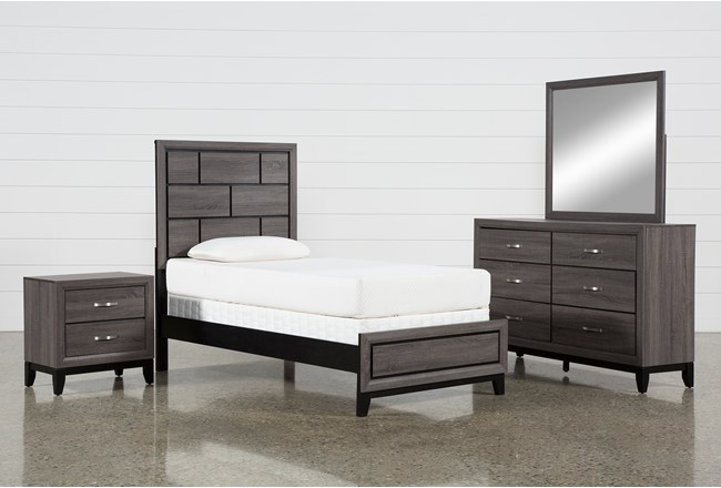 Finley Twin 4 Piece Bedroom Set - 360