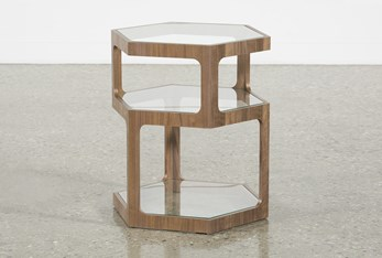 Hexi Accent Table