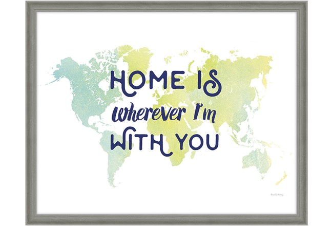 Picture-Home Is...32X42 - 360