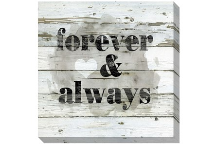 Picture-Forever & Always 24X24