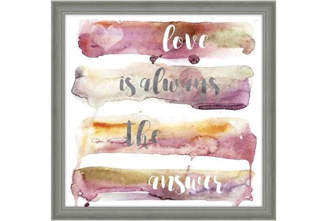 Picture-Love Is Always 24X24 - 360