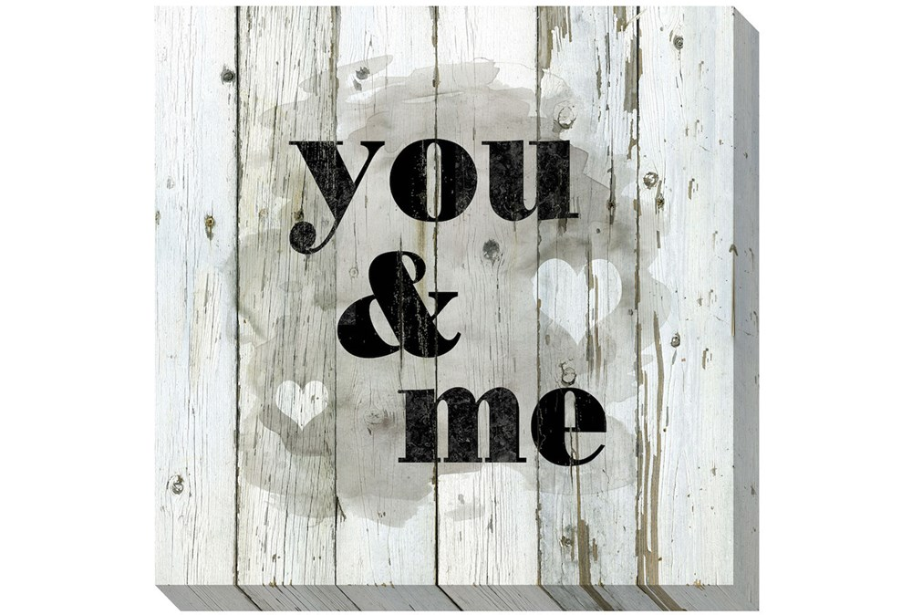 Picture-You & Me 24X24