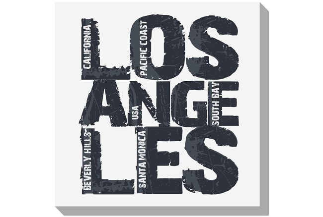Picture-Los Angeles 36X36 - 360
