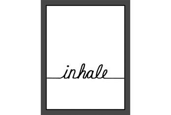 Picture-Inhale 22X18