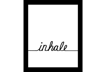 Picture-Inhale 22X18