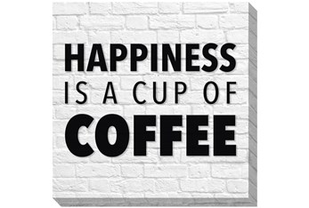 Picture-Happiness Is A Cup Of Coffee 36X36