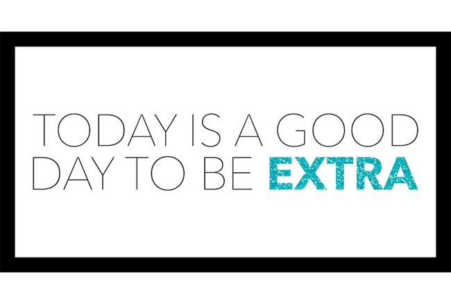 Picture-Today Is A Good Day To Be Extra 16X28 - 360