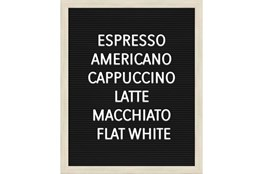 Picture-Coffee Lists 22X18