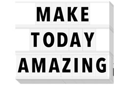Picture-Make Today Amazing 20X24