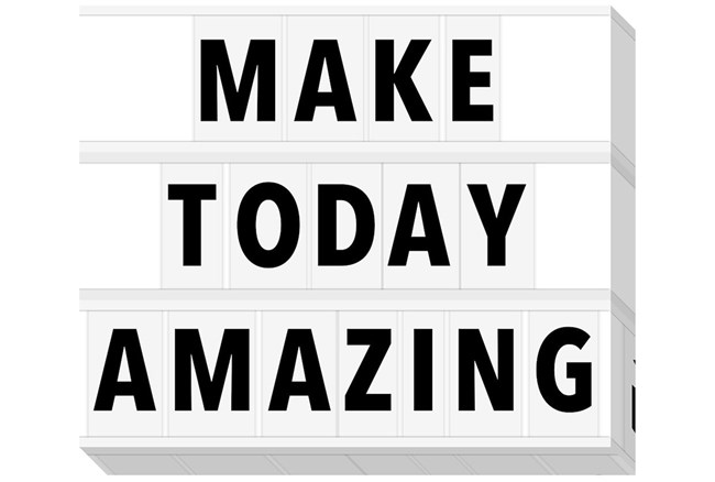 Picture-Make Today Amazing 20X24 - 360