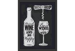 Picture-Wine Ship 18X14