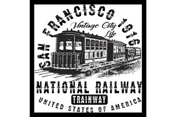 Picture-San Francisco 1916 26X26