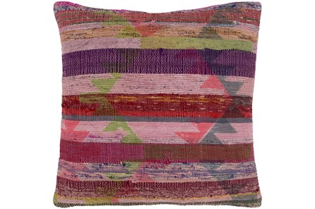 Accent Pillow-Santa Fe Brights Pink/Purple 20X20
