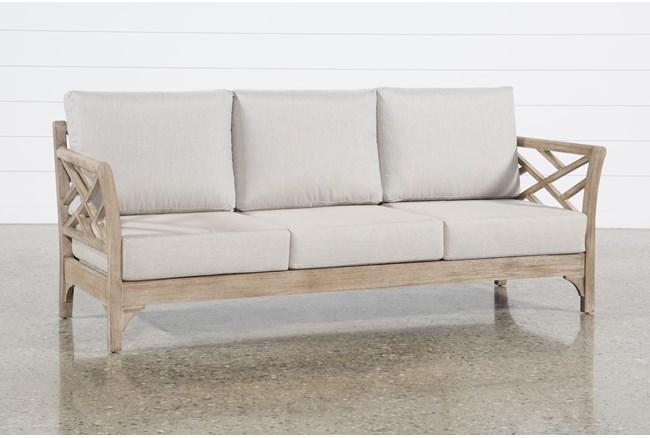 """Avignon 85"""" Outdoor Sofa  - 360"""